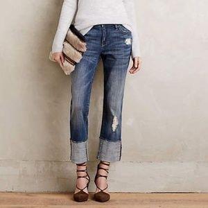 Anthropologie Pilcro Hyphen High Waist Jeans Sz 32